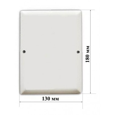 Табличка эмалированная плоская 13х18 заготовка №6