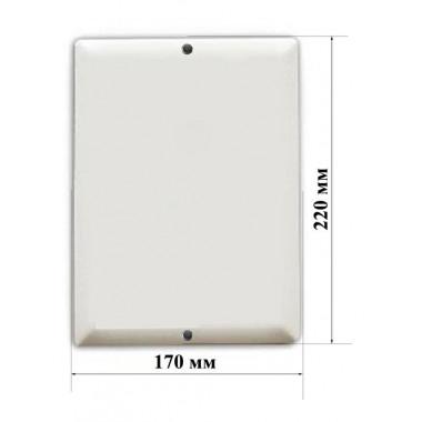 Табличка эмалированная плоская 17х22 заготовка №7