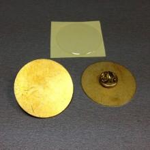 Значок 33 мм металлический